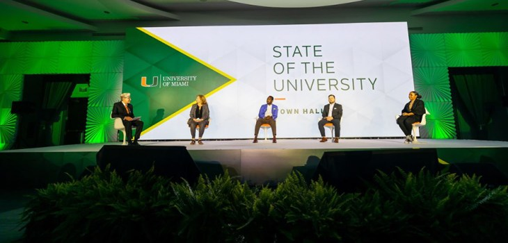 """University of Miami """"State of the U Town Hall"""" September 28, 2021"""