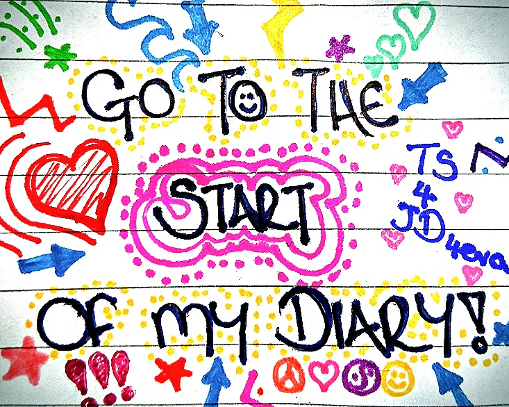 Go to the start of my diary...