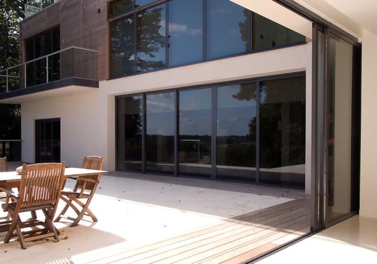 pocket aluminium sliding doors for