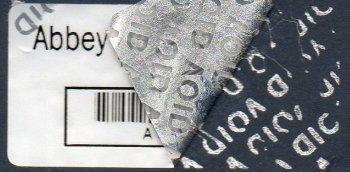 Security Labels - Tamper-evident 'VOID' Label