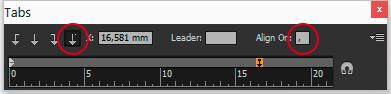 align_setting