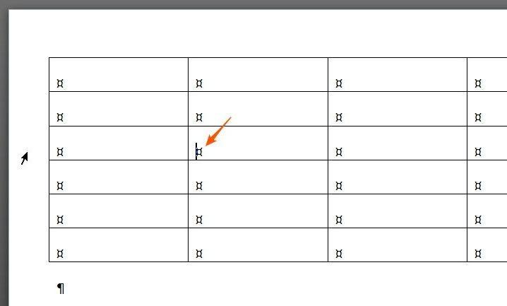 dzielenie tabeli etap 1