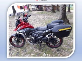 Honda CS1 Bekas Jadi Motor Adventure