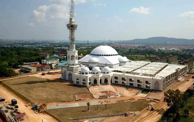 Masjid Agung Batam Yang Begitu Indah