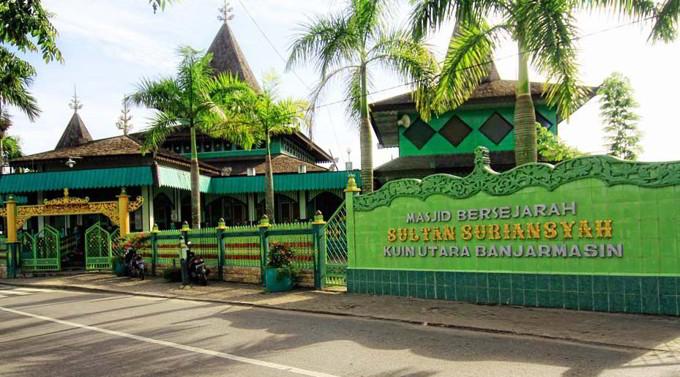 Masjid Sultan Suriansyah - Tempat Wisata Banjarmasin
