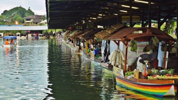 Pasar Apung Bandung Sekilas Mirip di Belanda