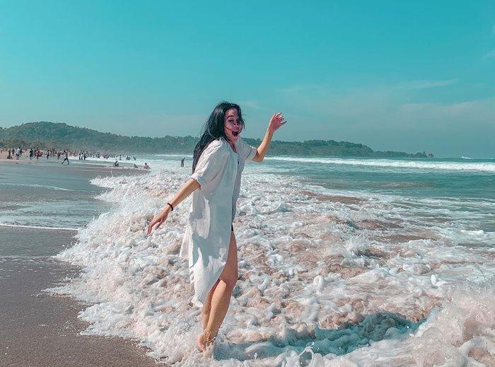 Keindahan Yang Mempesona Dari Pantai Sawarna Banten