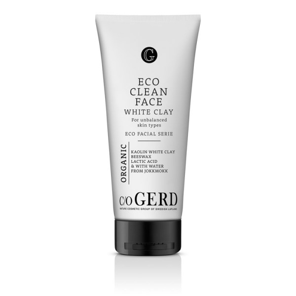 Eco Clean Face White Clay