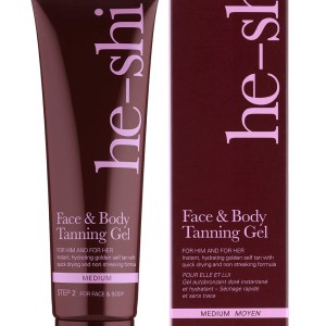 He-Shi Face _ Body Tanning Gel 150ml with Box