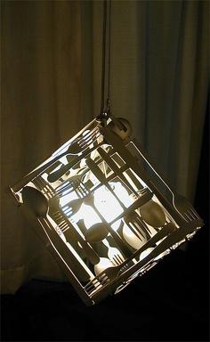 Silverware Pendant Lamp