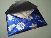 Blue envelope with Silver Lining