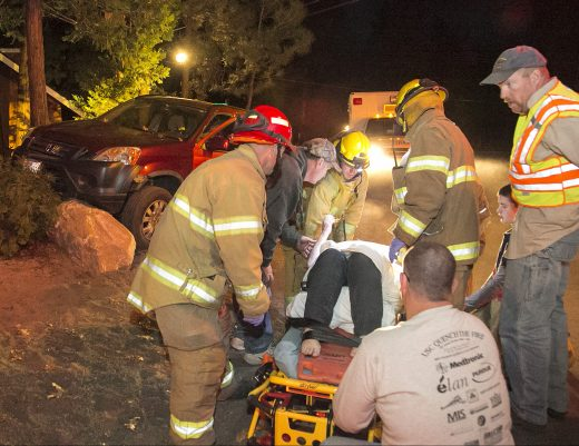 Collision sends local to hospital • Idyllwild Town Crier