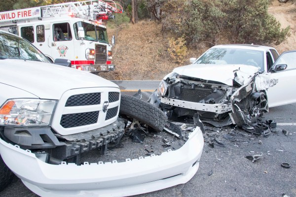 Three car collision in Idyllwild Saturday evening ...