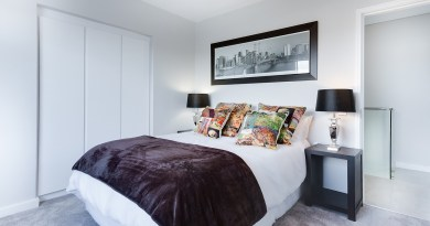 Elementy dekoracyjne do sypialni