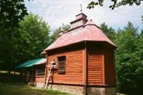 kapliczka na górze Jawor, fot.2014