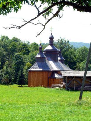 Bartne, cerkiew prawosławna z 1929r.