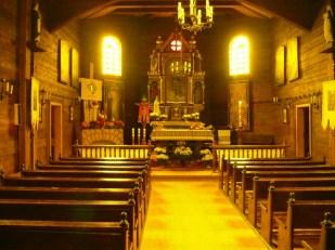 Chmiel - wnętrze cerkwi