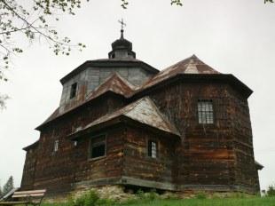 Zrujnowana cerkiew w Cewkowie
