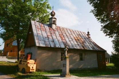 Regietów (Regetów) - stara cerkiew z l.30. XX-wieku; fot.2014