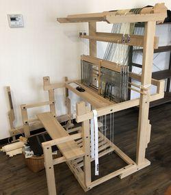 織機と小屋日和