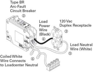 Arc Fault Breaker Wiring Diagram  Somurich