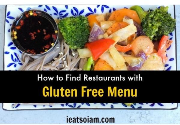 Restaurants with Gluten Free Menu – How to Find Them