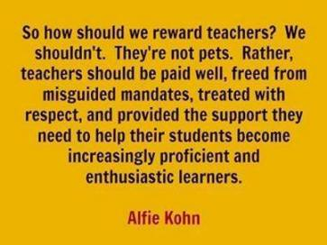 reward teachers