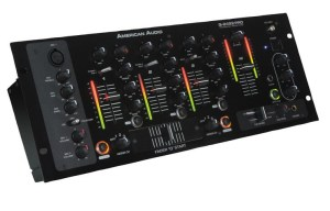 American Dj Q2422  3 Channel Mixer Rental