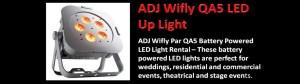 ADJ Wifly QA5 Led Uplight