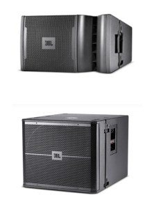 JBL VRX932LAP and JBL VRX918SP