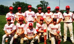 Showcase Baseball 17 White - Bracket Champ