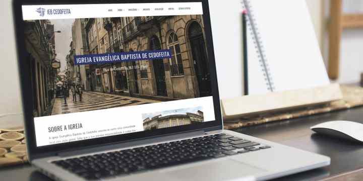 Novo site e novo logo