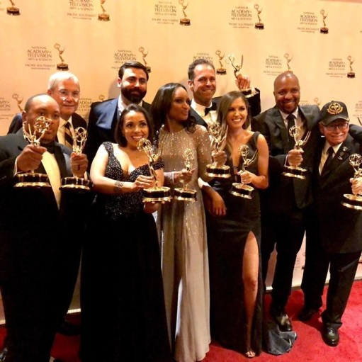 Team Cooper ENT Emmy Winners.