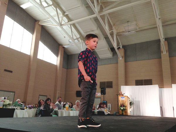 iecn photo/yazmin alvarez Fashion for both boys and girls from Seed were featured during Angels' Closet Charities annual fashion show May 9.