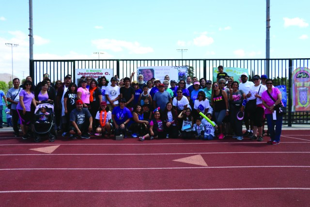 Photo/Anthony Victoria: Members of Team Rock N 4 a Cure.