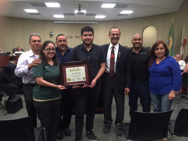 Garcias Tire Shop >> Colton City Council Recognizes Garcia Tire Shop For 26 Years Of