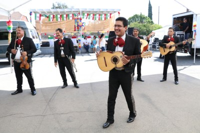 "Photo/Anthony Victoria: The mariachi group Sonidos De Mi Tierra performing the son ""Cielo Rojo (Red Sky)""."