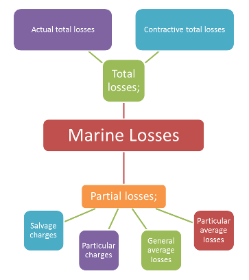 Types of Marine Losses