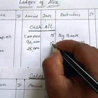 5 Simple Steps to Write and Prepare Ledger Account