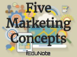 what are the core concepts of marketing