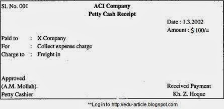 3 stages of operating petty cash fund petty cash fund reduces for every petty cash receipt kept in the petty cash box ccuart Image collections