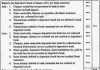 Bank Reconciliation Statement (Definition, Types, Template)