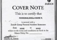 Insurance Cover Note: How Insurance Cover Note Works