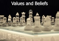Values and Beliefs: Similarities and Differences