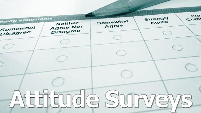 Attitude Surveys