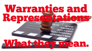 How Representations and Warranties Works in Insurance
