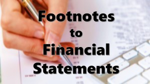 Footnotes to Financial Statements: Definition, Meaning, Types, Examples