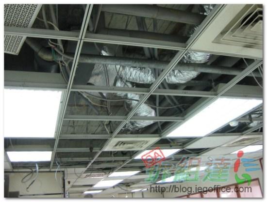 辦公室裝修-中央空調(風管)清洗工程