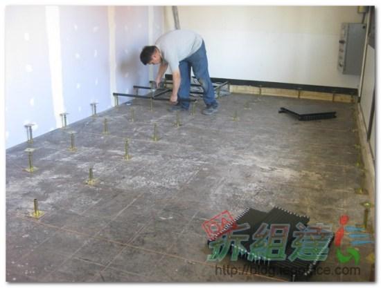 辦公室裝修-高架地板