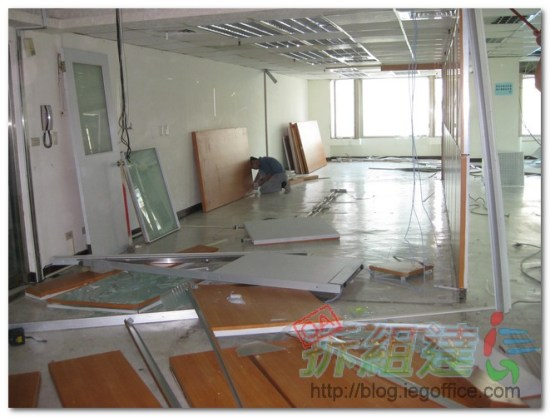 辦公室裝修-拆除工程